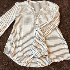 Luck Brand Striped Top